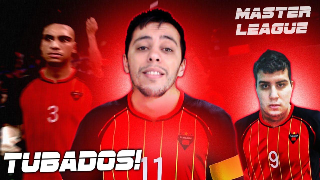 O INÍCIO com TUBADOS, o time só de YOUTUBERS - Master League #1 | PES 2020