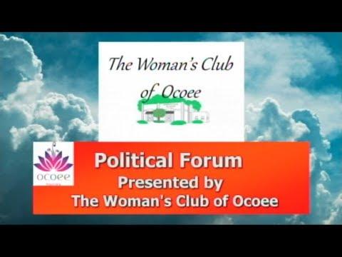 Ocoee Women's Club Political Forum