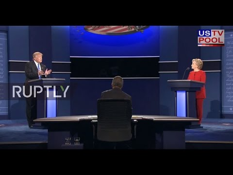 LIVE: Clinton and Trump take part in their first presidential debate