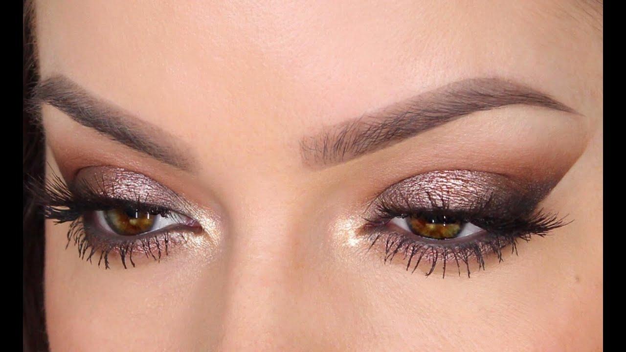 Metallic Brown Smoky Eye | MakeUp Tutorial