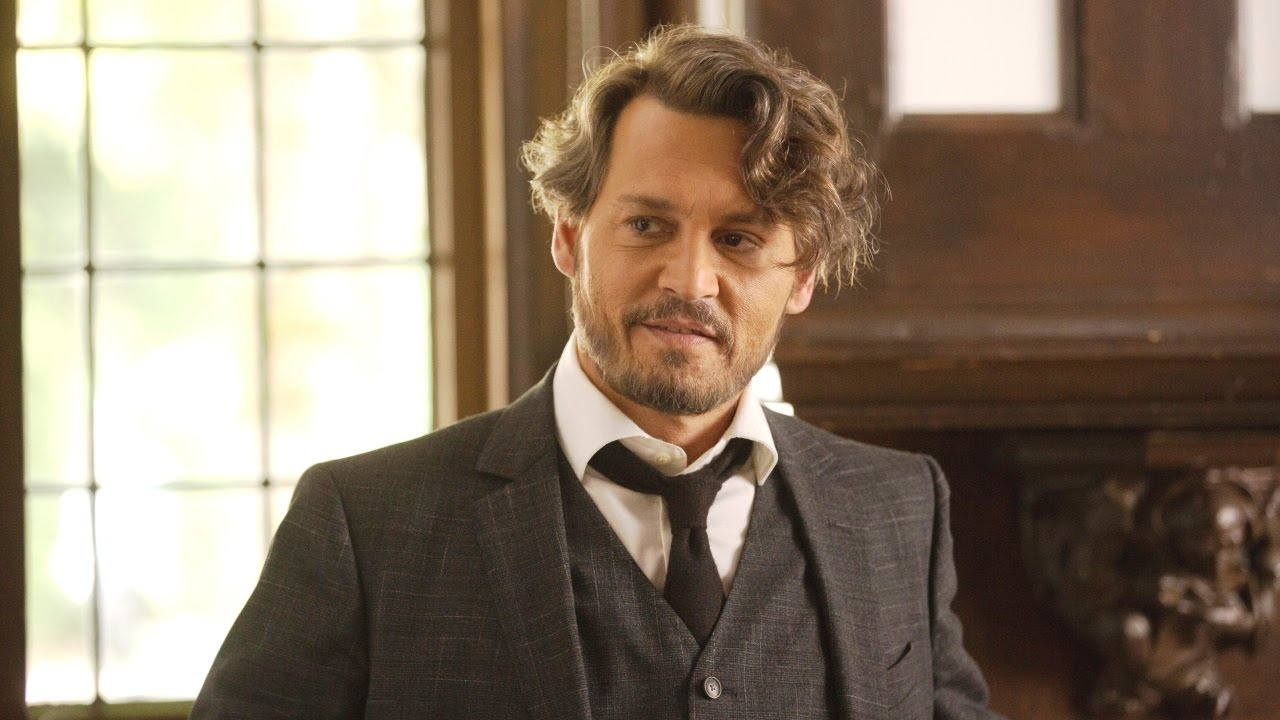 Film: The Professor. Richard says goodbye starring Johnny Depp