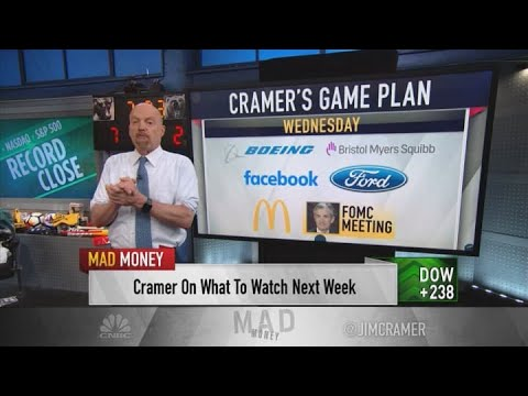Cramer's game plan for the trading week of July 23