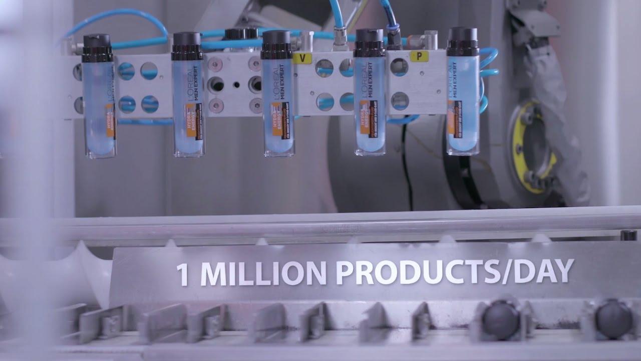 The L'Oréal factory in Karlsruhe, Germany – Industry 4 0 EN