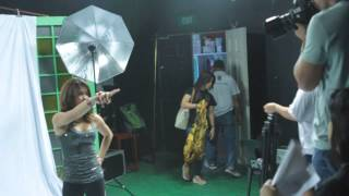 I Dare You Photoshoot BTS - Melai Cantiveros