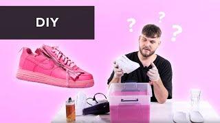 Jak Udělat ''OVERDYED'' Sneakers?