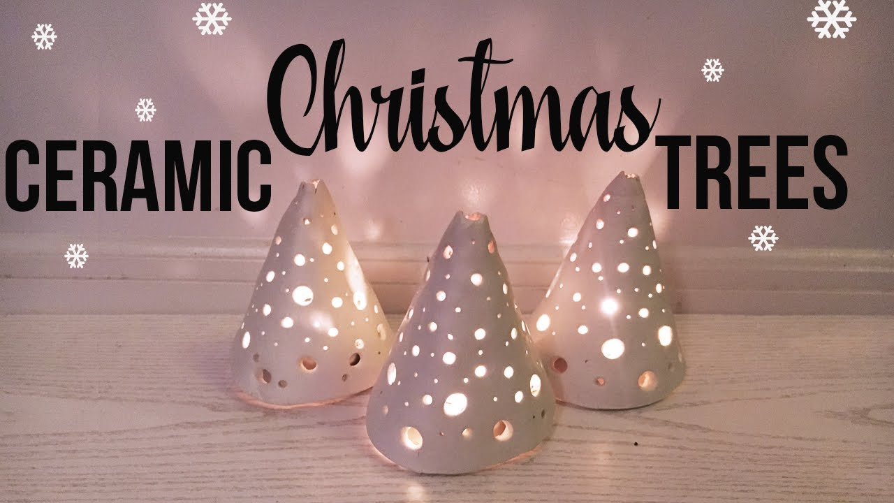 Ceramic Christmas Tree Easy Diy Youtube