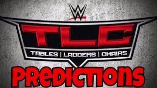WWE TLC Predictions - BrettO Live