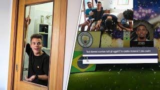 DISCARD PACK CHALLENGE! ABBIAMO ROTTO UNA PORTA! w/ DAVH, FIUS GAMER | FIFA 18 PACK OPENING  [ITA]