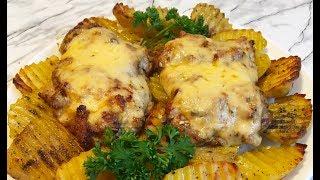 Запеченные Куриные Бедра / Baked Chicken Thighs / Бедрышки Без Косточки в Духовке