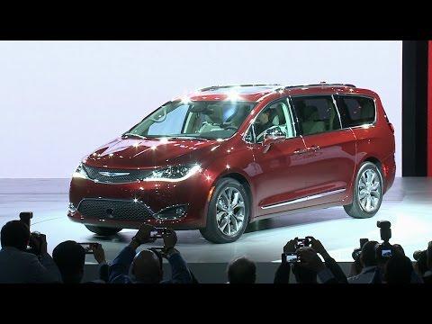2017 Chrysler Pacifica: NAIAS 2016 Minivan Reveal Highlights