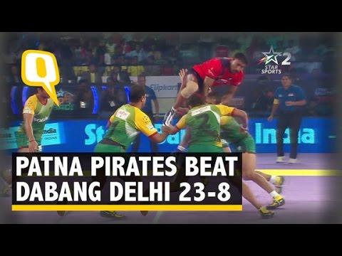 Pro Kabaddi League 2015: Patna Pirates beat Dabang Delhi 39-22