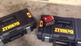 DeWalt Tough System Battery & Tool Storage