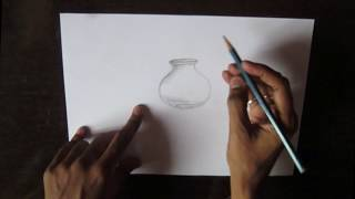 How to DRAW POT WITH SHADOWS