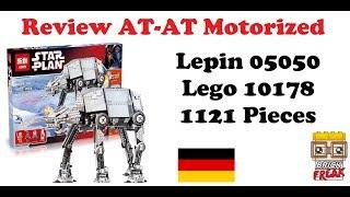 Review AT-AT motorisiert - Lepin 05050 - Lego 10178