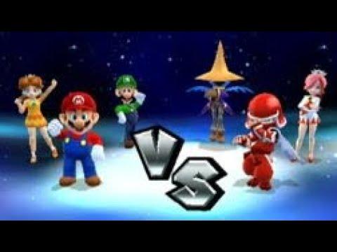 Mario Sports Mix (Wii U) – Dodgeball – Tournament Mode #3 (Request)
