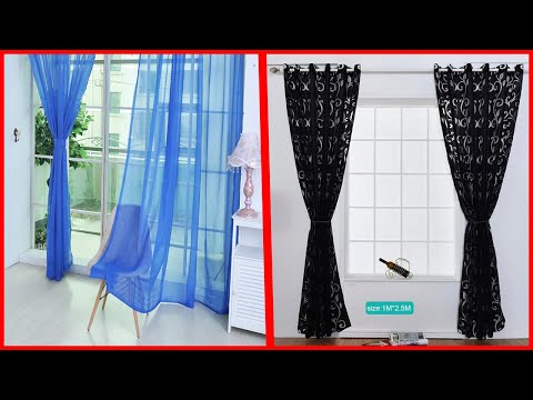 simple window curtains design/,Curtain design ideas for small window
