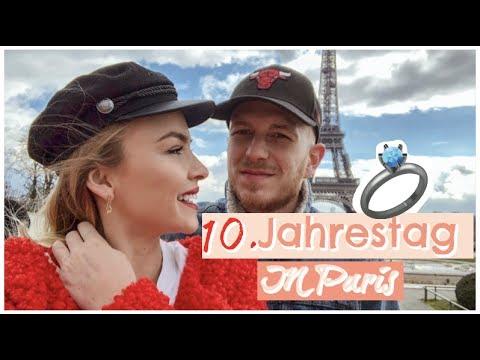 UNSER 10 Jähriges in Paris ❤️ Ich habe JA gesagt! |Patrizia Palme