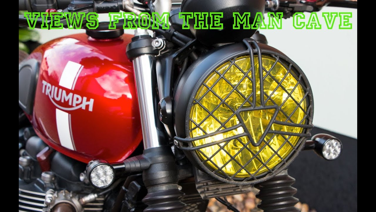 Yellow Motorcycle Headlight Tint How And Why I Fitted It Youtube