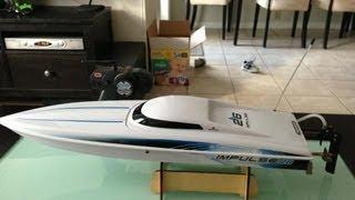 Pro boat impulse 26 maiden run