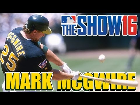 MLB The Show 16 Legends Player Lock Ep.105:  Mark McGwire
