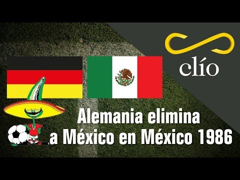 Alemania elimina a México en México 86