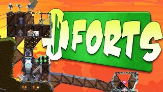 1v1 Multiplayer Skirmish! - Forts Gameplay - Forts Multiplayer