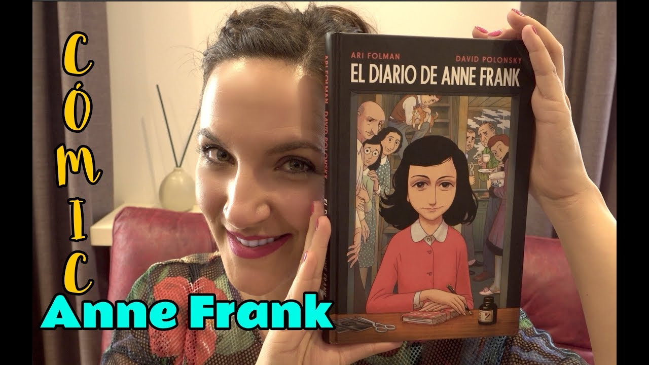 EL DIARIO DE ANNE FRANK NOVELA GRÁFICA | Vero Blabla - YouTube