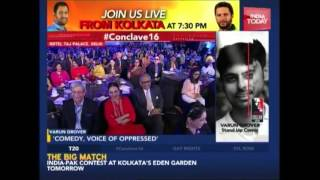 Varun Grover's Comic Take On Narendra Modi At India Today Conclave 2016