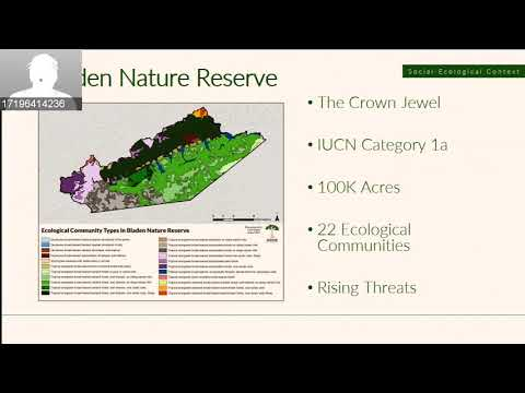 Protected Area Management: Update of the management plan for Bladen Nature Reserve, Belize