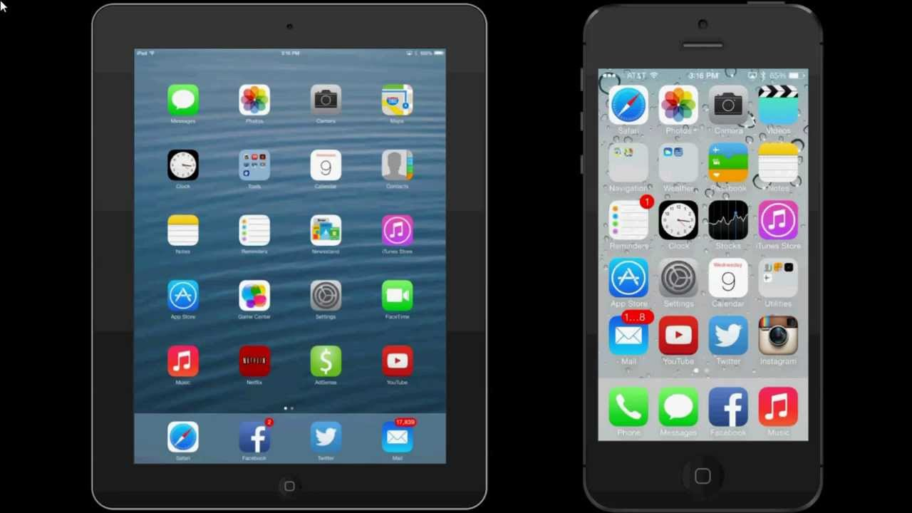 Airdrop Demo  Ipad Mini  Iphone 5s Ios 702