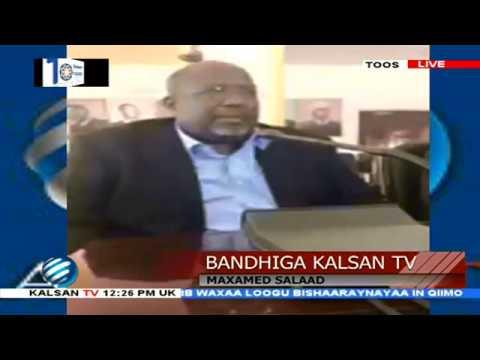 BANDHIGA KALSAN TV/ FALAQAYNTA MOOSHINKII LAGA KEENAY MADAXWEYNAHA IYO HALKA UU MARAYO.11-12-18
