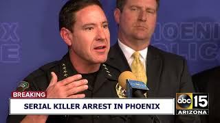 FULL VIDEO: Phoenix police announce arrest of suspected serial killer