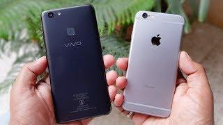 ViVo V7 Plus vs iPhone 6 SPEED TEST | COMPARISON!!