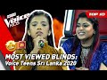 TOP 10 | MOST VIEWED Blind Auditions of 2020: Sri Lanka 🇱🇰 | The Voice Teens