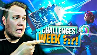 RIP WEEKLY CHALLENGES?! *WORLDS COLLIDE CHALLENGES* :: Dansk Fortnite