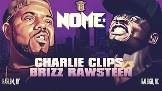 CHARLIE CLIPS VS BRIZZ RAWSTEEN SMACK/ URL RAP BATTLE | URLTV