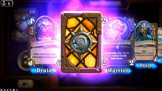 Wispering Woods + Forest Guide + Bewitched Guardian - Witchwood Hearthstone epic and rare card pack
