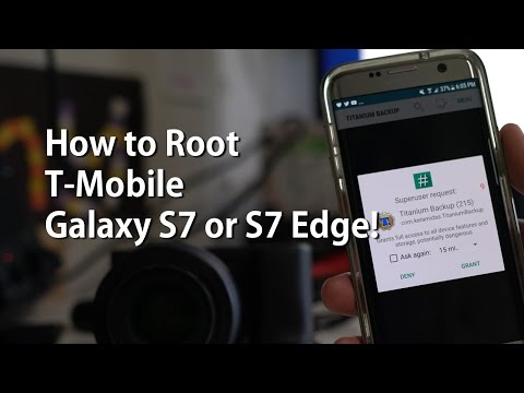 How to Root T-Mobile Galaxy S7 or S7 Edge on Android 7.0 Nougat!