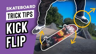 How to KickFlip – Step by Step Tutorial – SkateHut Trick Tips