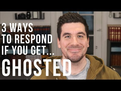 3 Ways To Respond If You Get Ghosted