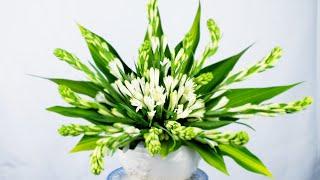 Cách cắm hoa để bàn thờ  bình hoa huệ để bàn t…