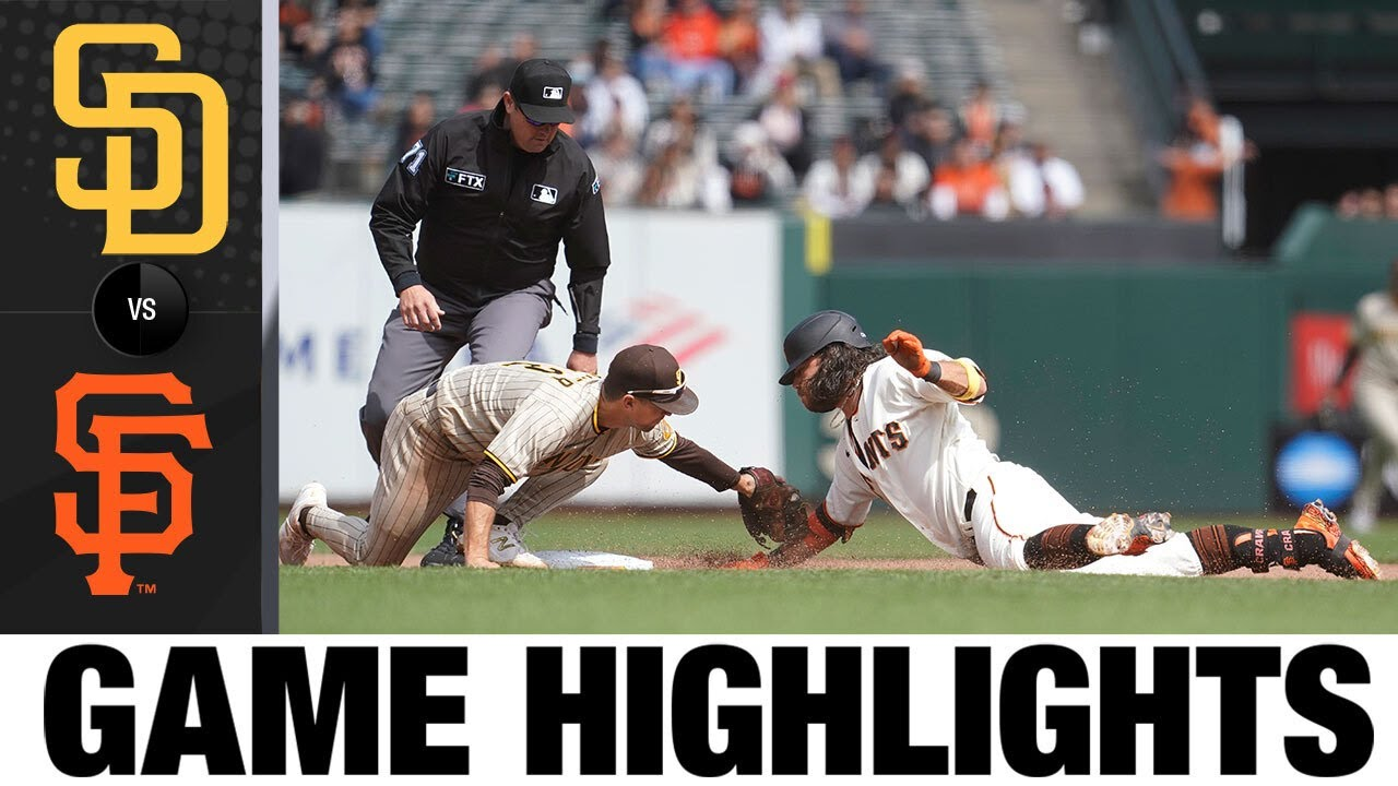 Download Padres vs. Giants Game Highlights (9/16/21) | MLB Highlights