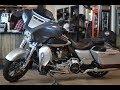 New CVO Street Glide FLHXSE 2019 MY Harley-Davidson Charred Steel & Lightening Silver