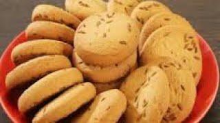 Zeera biscuit recipe cumin cookies bakery biscuit recipe vlog