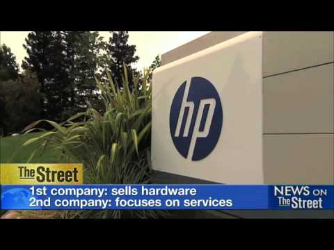 HP stock up 6%: Investors love split strategy
