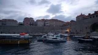 Eating in Split, Croatia
