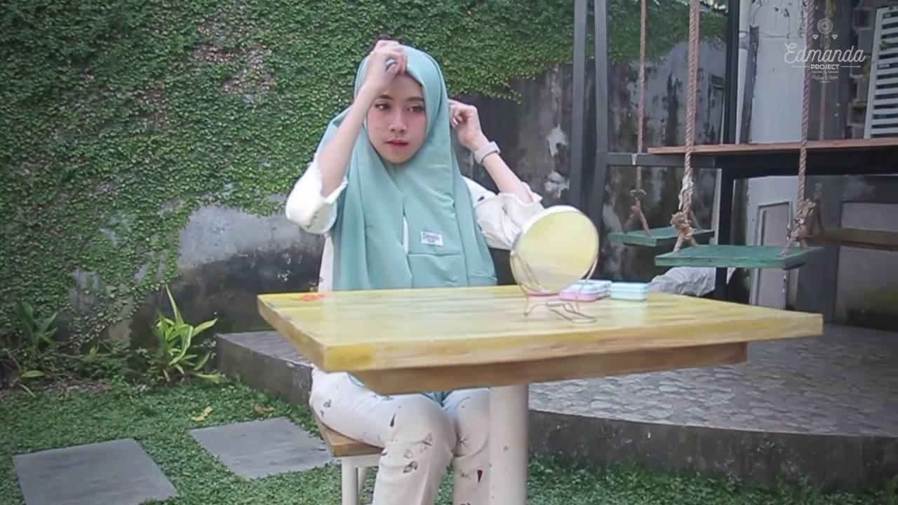 Tutorial Hijab By Amelia Elle ADEEVA INSTANT By Edmanda YouTube