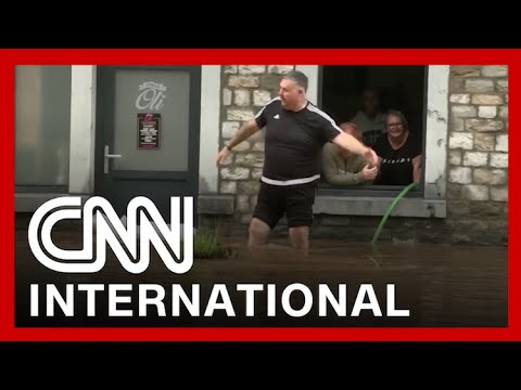 Heaviest rainfall in a century devastates parts of Western Europe