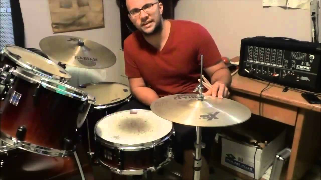 kids drum lesson how to play your first drum beat youtube. Black Bedroom Furniture Sets. Home Design Ideas