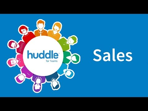 Huddle for teams - Sales